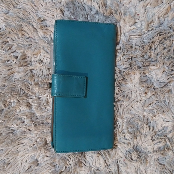 HOBO Handbags - HOBO teal wallet